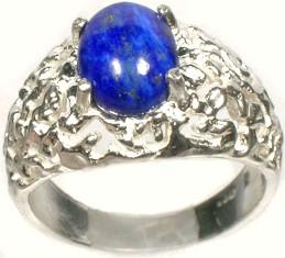 19thc Antique 3ct Lapis Lazuli Gemstone Ancient Gem Of