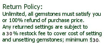 RETURN POLICY settings are subject to a 15% restock fee